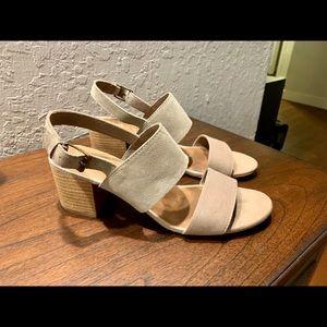 Toms Desert Taupe Poppy Sandals